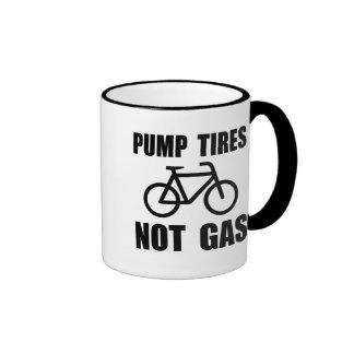 Pump Tires Ringer Coffee Mug