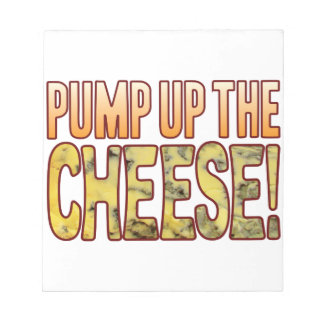 Pump Up Blue Cheese Notepad