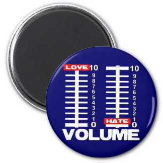 Pump up the Love! 2 Inch Round Magnet