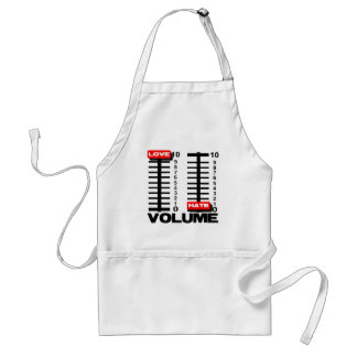 Pump up the Love! Adult Apron
