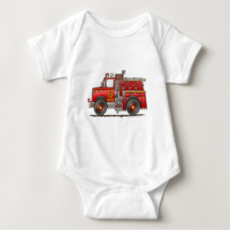 Pumper Rescue Fire Truck Firefighter T-shirt
