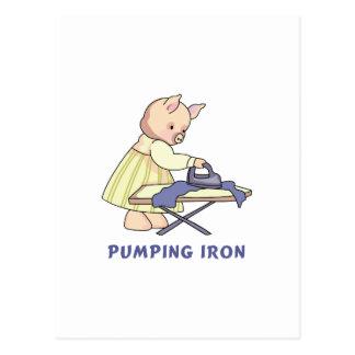Pumping Iron Postcard