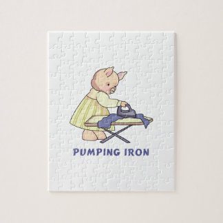 Pumping Iron Puzzles