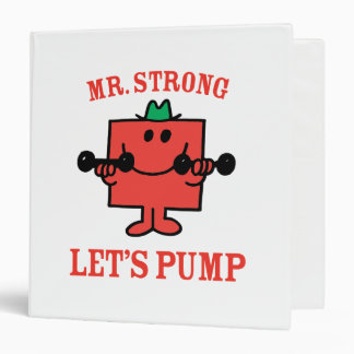 Pumping Iron With Mr. Strong Binder