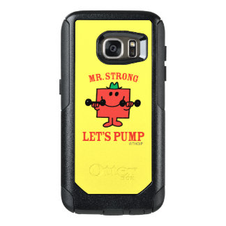 Pumping Iron With Mr. Strong OtterBox Samsung Galaxy S7 Case