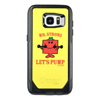 Pumping Iron With Mr. Strong OtterBox Samsung Galaxy S7 Edge Case