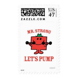 Pumping Iron With Mr. Strong Postage