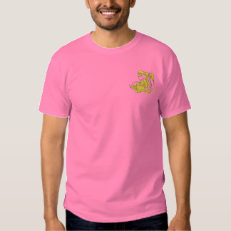 Pumping Jack Embroidered T-Shirt