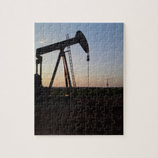 Pumping Unit in West Texas Puzzle