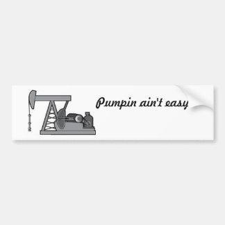 pumpjack bumper sticker