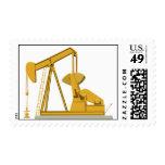 Pumpjack Golden Stamps