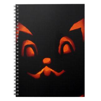 pumpkin-266233 pumpkin autumn fall SCARY BLACK ORA Notebooks