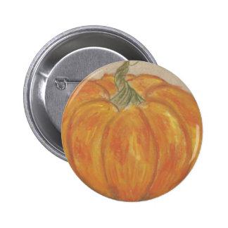 Pumpkin 2 Inch Round Button