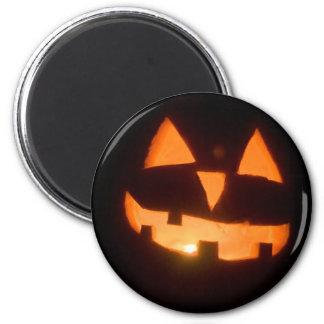pumpkin 2 inch round magnet