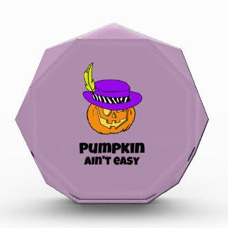 Pumpkin Ain't Easy Pimp Jack-o-lantern Award