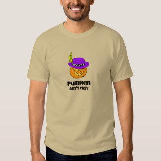 Pumpkin Ain't Easy Pimp Jack-o-lantern Tee Shirt