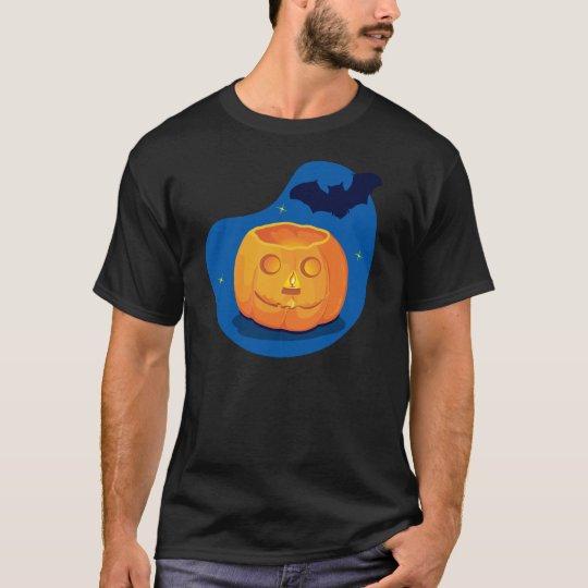 Pumpkin and Bat T-Shirt
