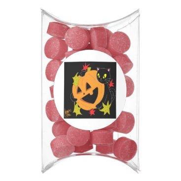 Halloween Themed Pumpkin and Cat 1 Gum