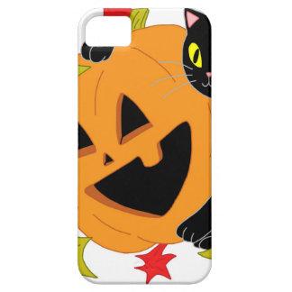 Pumpkin and Cat 2 iPhone SE/5/5s Case