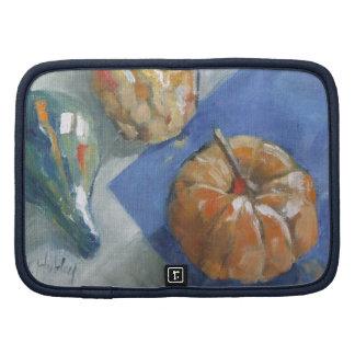 Pumpkin and gourds Still Life Folio Planner