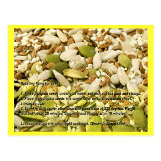 Pumpkin and Mixed Seeds Recipe Card