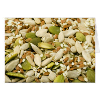 Pumpkin and Seed Mix Greeting Cards