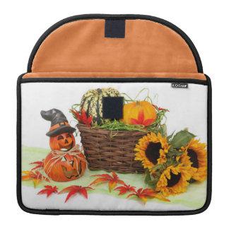 Pumpkin and Sunflowers MacBook Pro Sleeve