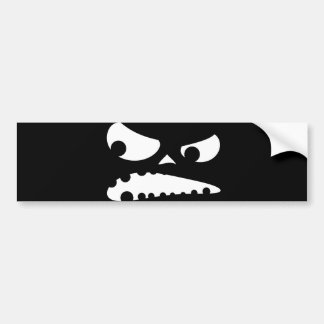 Pumpkin Angry Bumper Stickers