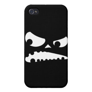 Pumpkin Angry Case For iPhone 4