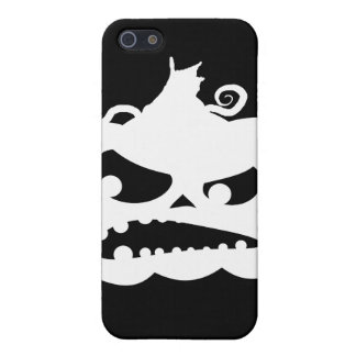 Pumpkin Angry Case For iPhone SE/5/5s