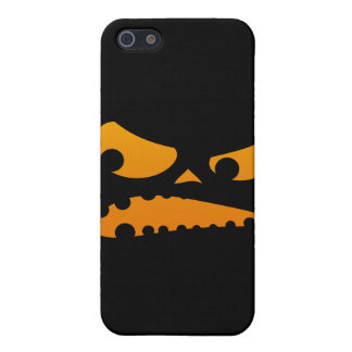 Pumpkin Angry Cover For iPhone SE/5/5s