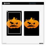 Pumpkin Angry Decal For Kindle Fire