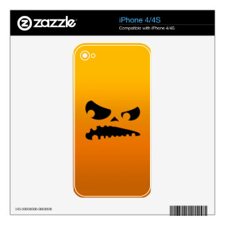 Pumpkin Angry Skins For iPhone 4S