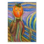 Pumpkin Angst Greeting Cards