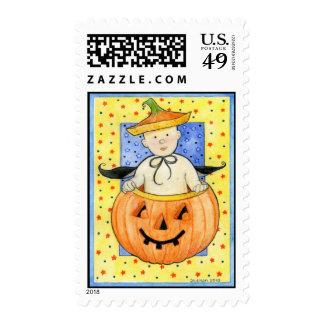 Pumpkin Baby Postage