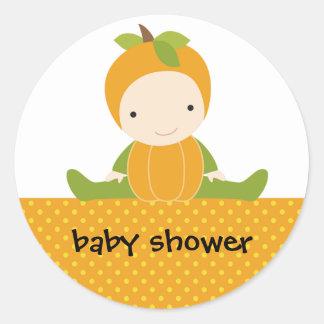 Pumpkin Baby Stickers