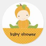 Pumpkin Baby Stickers Stickers