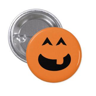 Pumpkin badge pinback button