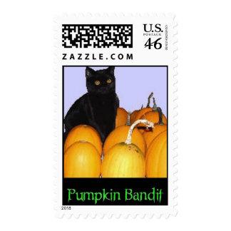 Pumpkin Bandit Stamps