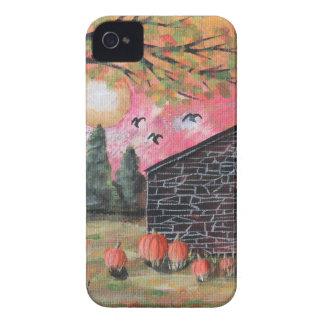 Pumpkin Barn iPhone 4 Case