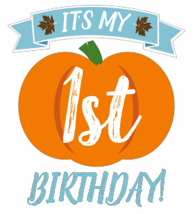 Pumpkin Birthday Shirt Toddler Boy