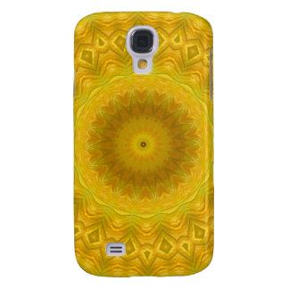 Pumpkin Blossom Kaleidoscope Samsung Galaxy S4 Cover