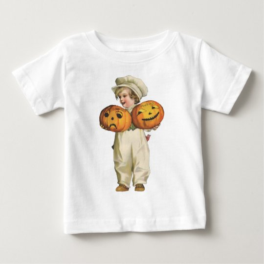 Pumpkin Boy Baby T-Shirt