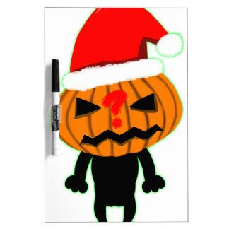 Pumpkin Boy Dry Erase Board