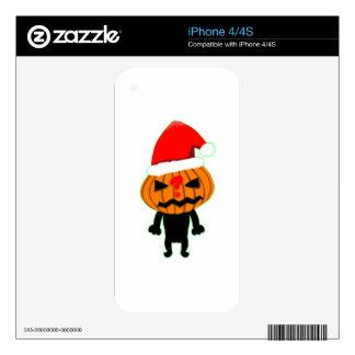 Pumpkin Boy iPhone 4 Skin