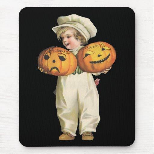 Pumpkin Boy Mouse Pad