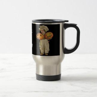 Pumpkin Boy Coffee Mug