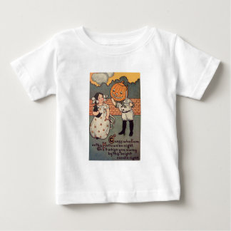 Pumpkin Boy (Vintage Halloween Card) Baby T-Shirt
