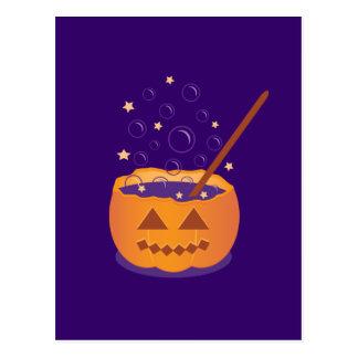 Pumpkin Brew Post Card