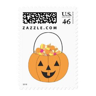 Pumpkin Bucket Stamp